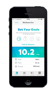 The Dash Smartphone App (Bild: Bragi)