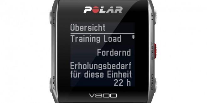 Polar V800 schwarz (Quelle: Polar)