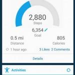 Garmin Connect - Schritte, Tagesziel, Kalorien