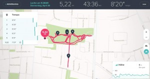 Fitbit Surge Laufen mit GPS