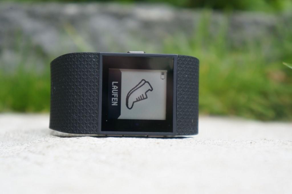 Fitbit Surge Test Laufen