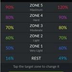 Go App - Trainingszonenmodus