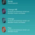 Fitbit App - Tracker einrichten