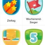 Fitbit App - Wettkämpfe