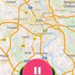 Fitbit App - GPS Aktivitäten-Tracking