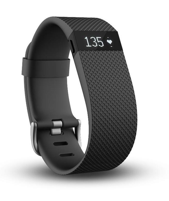 Fitbit Charge HR Schwarz