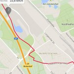Vivoactive GPS Routenverfolgung