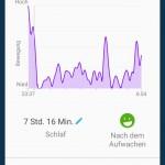 Connect App - Schlafübersicht anpassen