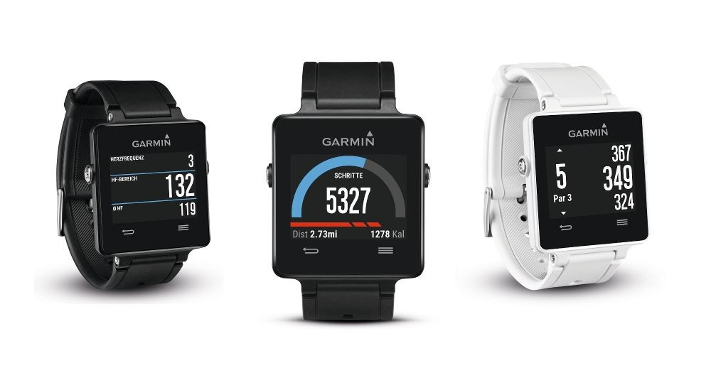Garmin Vivoactive GPS Multisport Smartwatch (Quelle: Garmin)