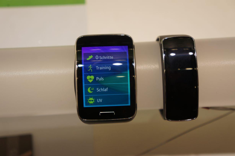 Samsung Gear S - sportliche Aktivitäten