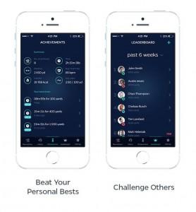 Swimmo App - Training Zusammenfassung und Challenge