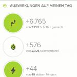 Fitbit App Laufen Auswertung Auswirkungen