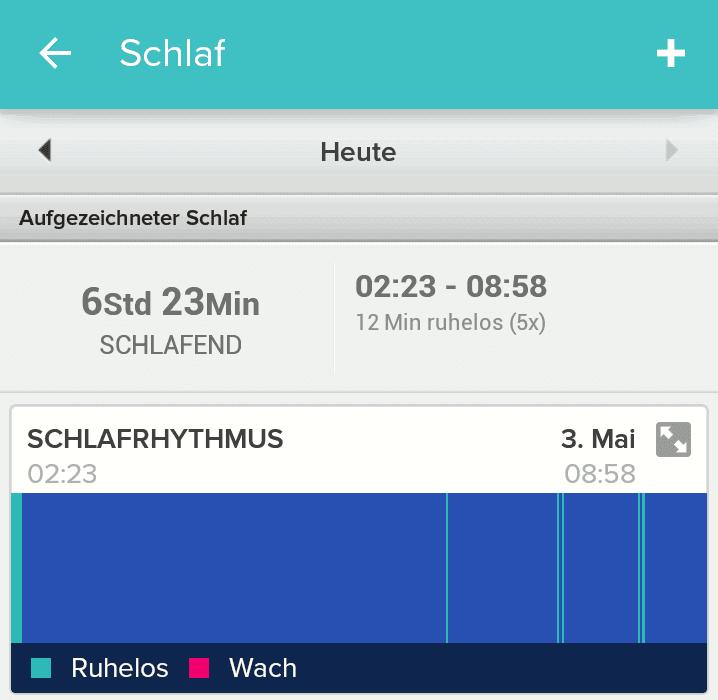 Surge Schlaftracking