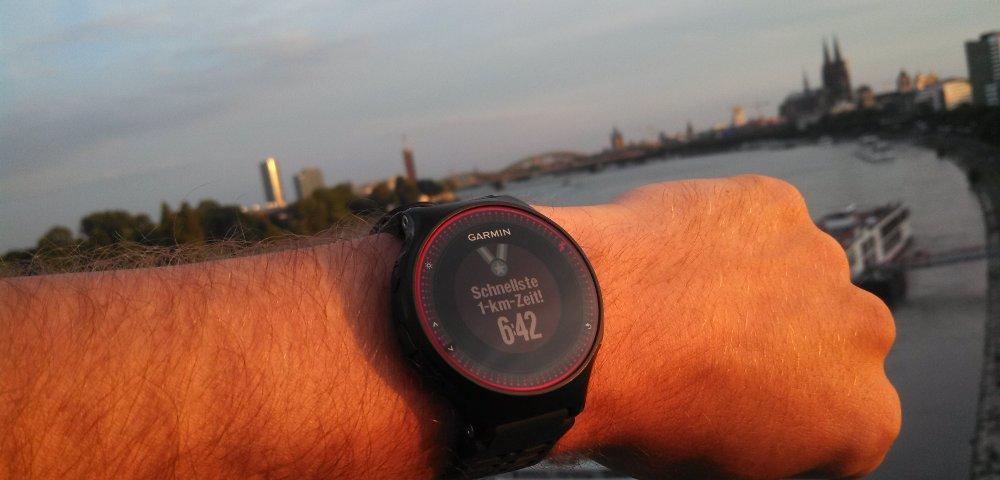 FR225 Rekord - schnellste Kilometer Zeit