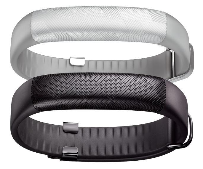Jawbone UP2 in schwarz und grau (Quelle: Jawbone)