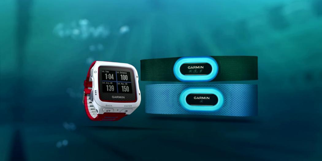 Garmin HRM-Tri und HRM-Swim
