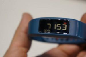 Garmin Vivofit 2 Test - restliche Tagesschritte
