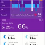 UP App - Schlafaufzeichnung