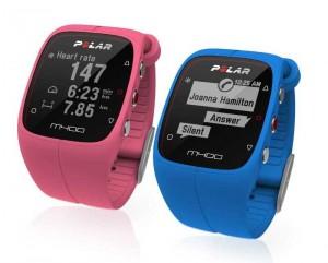 Polar M400 in Pink und Blau (Bildquelle: Polar Electro)