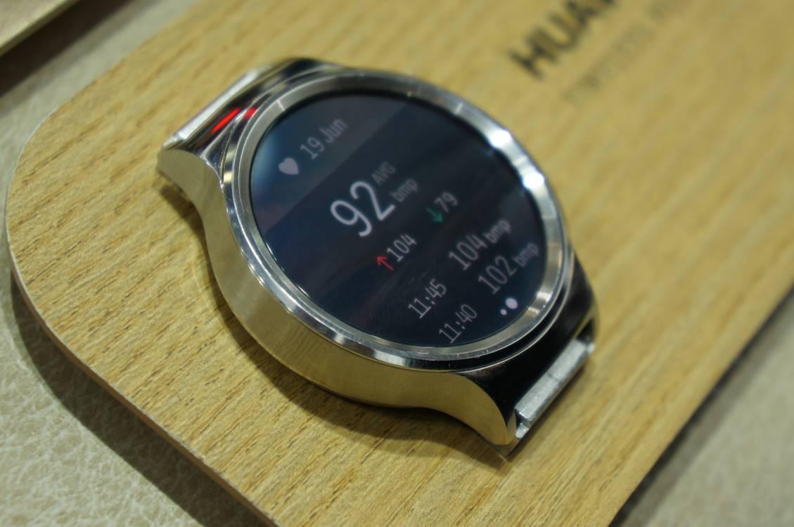 Huawei Watch Pulsdaten