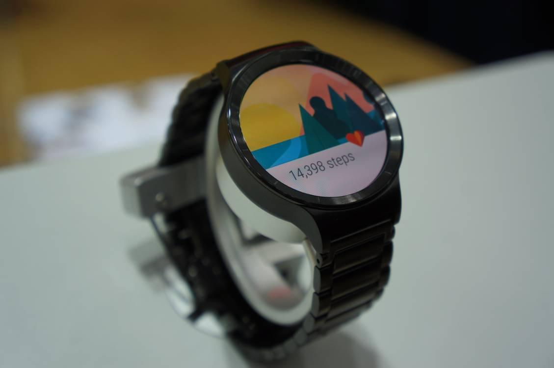 Huawei Watch - zurückgelegte Schritte