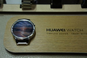 Huawei Watch in Silber