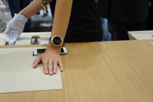 Huawei Watch mit Goldbeschichtung