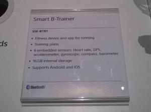 Sony Smart B-Trainer wichtigste Merkmale