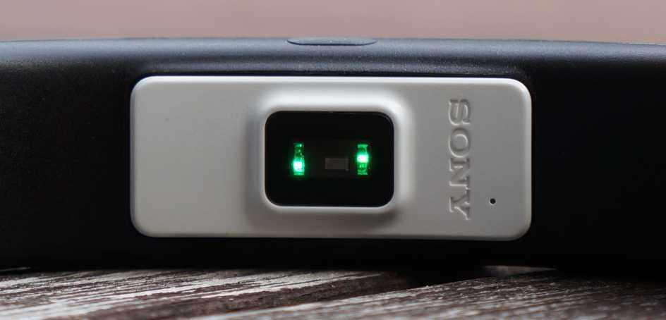 Sony SmartBand 2 Pulssensor
