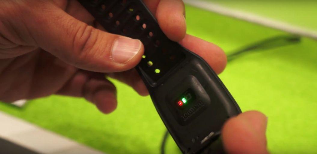 TomTom Spark Pulssensor - Grünes und Rotes Licht im Einsatz
