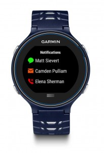 Garmin FR630 Smart Notifications