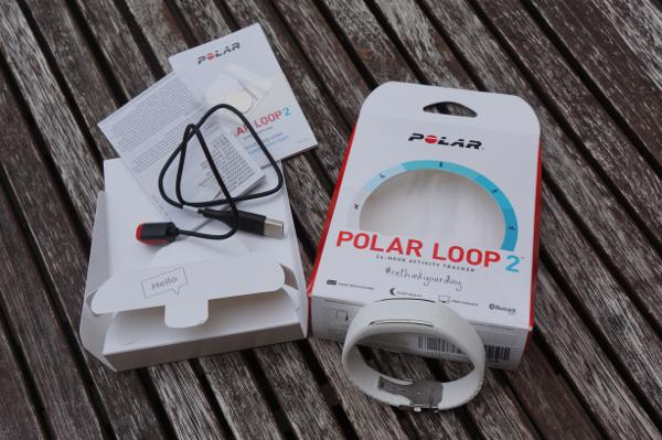 Polar Loop 2 Test: Unboxing