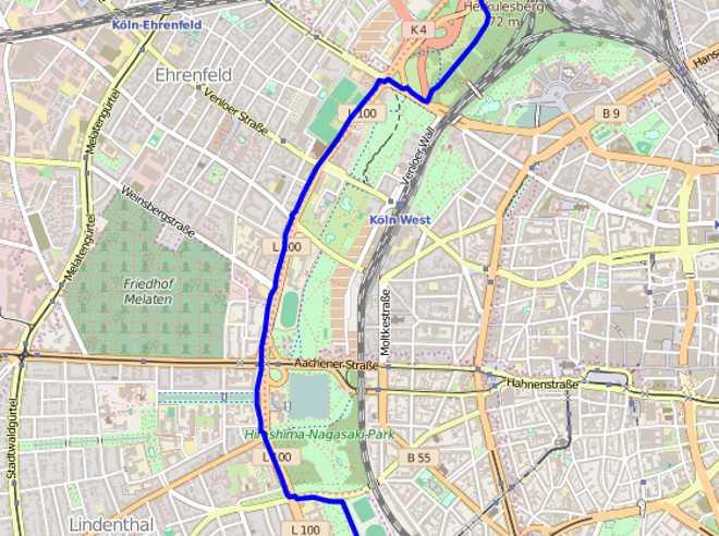 Spark Cardio Test: GPS Genauigkeit