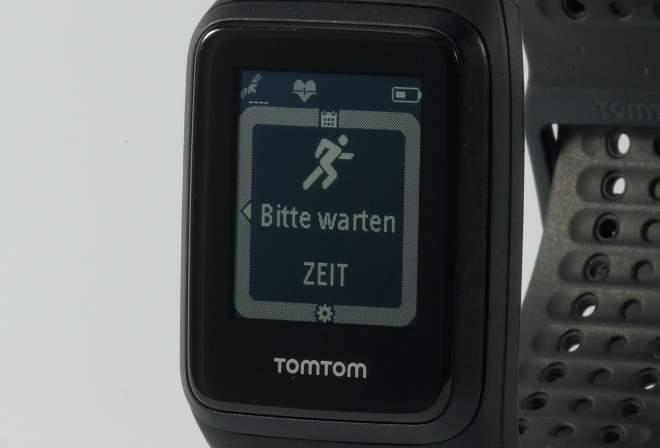 TomTom Spark Cardio: Laufaktivität starten