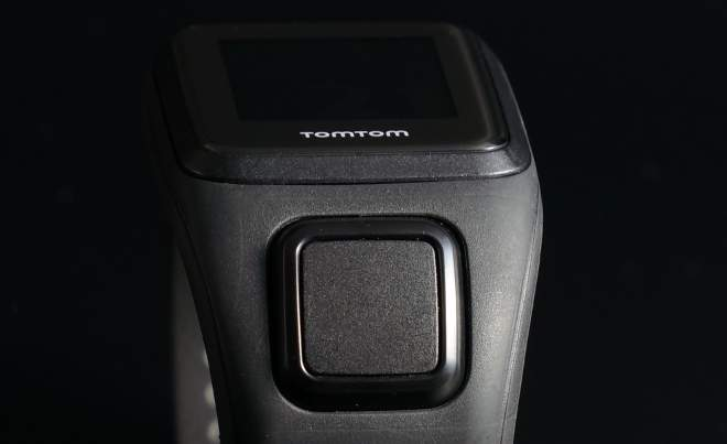 TomTom Spark Cardio: Navigationstasten