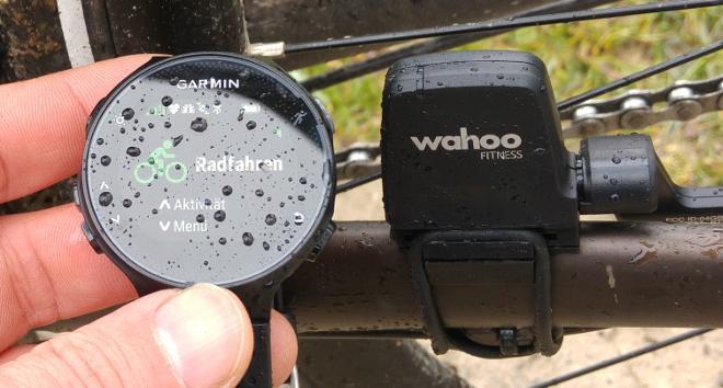 FR235 mit Radsensor Symbole
