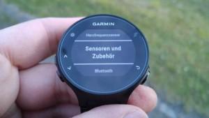 Garmin FR235: Sensoren koppeln