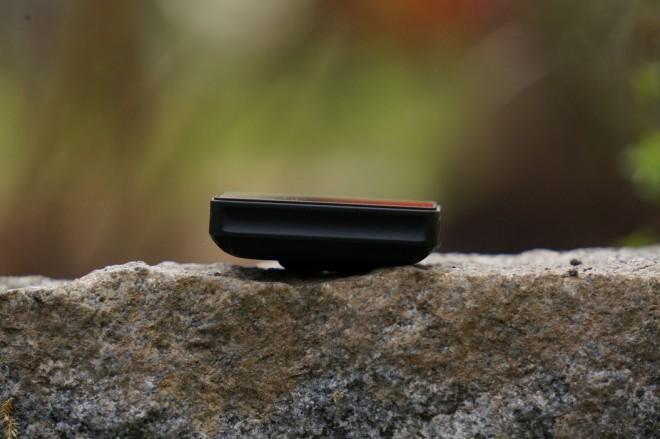Fitbit Blaze von der Seite