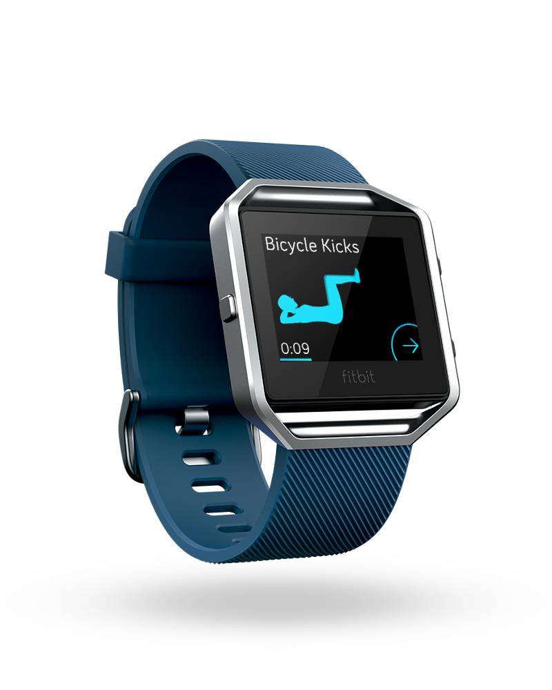 test fitbit blaze fitness uhr update. Black Bedroom Furniture Sets. Home Design Ideas