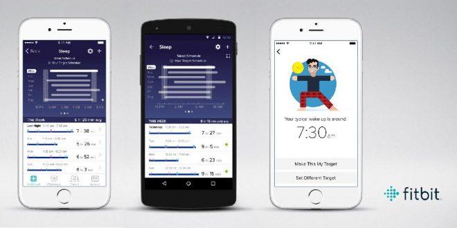 Fitbit App mit neuen Schlaf-Funktionen