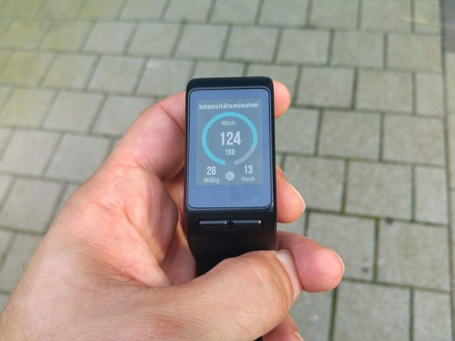Vivoactive HR: Intensitätsminuten