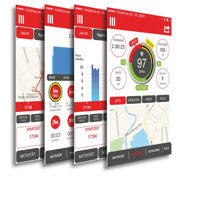 SpoQ HR App für Android und iPhone