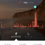Misfit App Aktivitäten