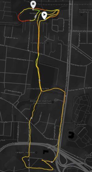 Movescount Heatmap