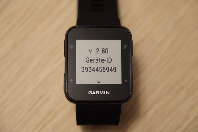 Garmin Forerunner 35 Test