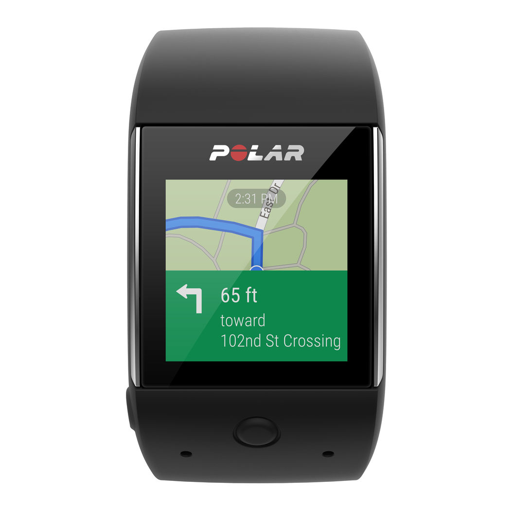 Polar M600 Android Map