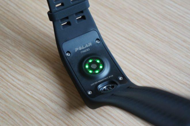 M600: 6 LEDs im Pulssensor