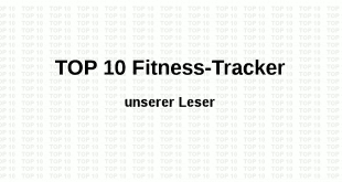 Top 10 Fitness Tracker
