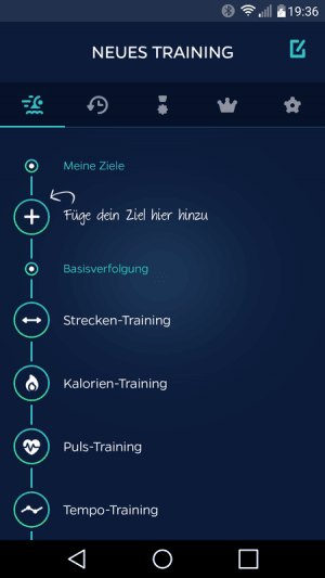 Swimmo Trainingsziele
