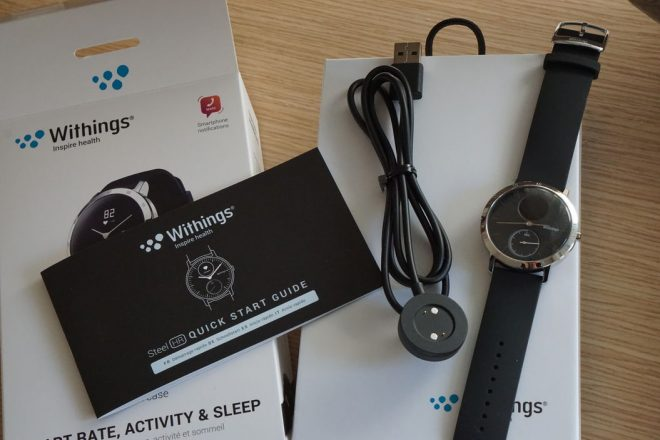 Withings Steel HR Unboxing